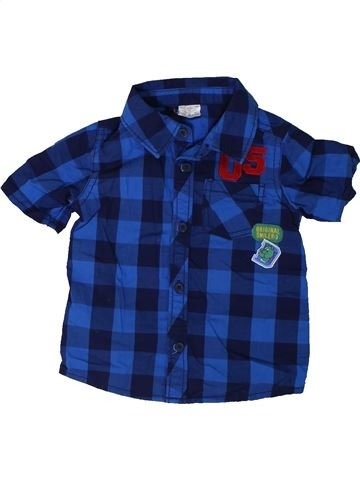 Camisa de manga corta niño F&F azul 9 meses verano #1310392_1