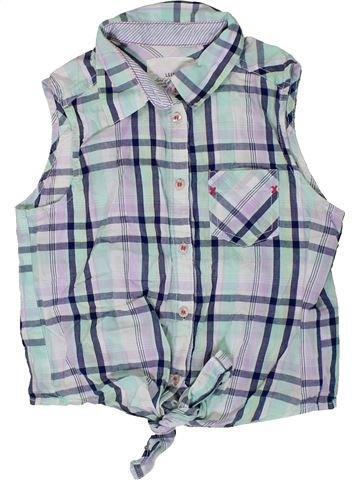 Blusa de manga corta niña H&M gris 10 años verano #1310405_1