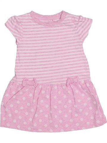 Vestido niña BLUEZOO rosa 9 meses verano #1310455_1