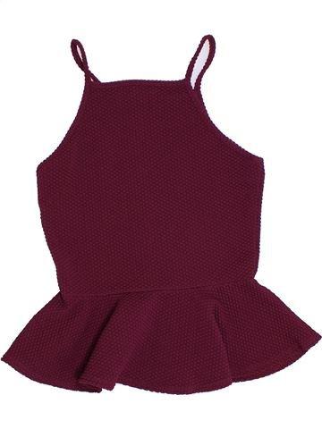 Camiseta sin mangas niña CANDY COUTURE violeta 13 años verano #1310465_1