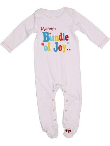 Pijama de 1 pieza niño LADYBIRD blanco 9 meses verano #1310476_1