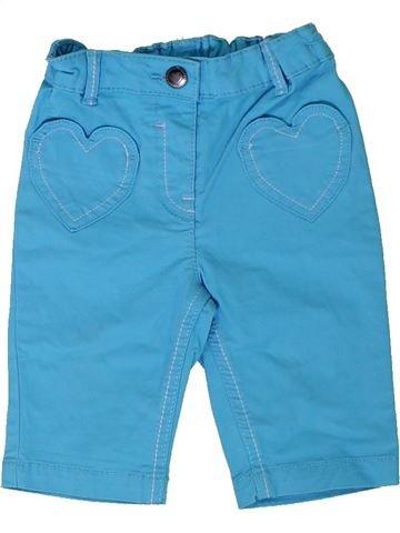 Pantalón niña GEORGE azul 18 meses verano #1310499_1