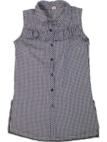 Blusa de manga corta niña TU violeta 12 años verano #1310523_1