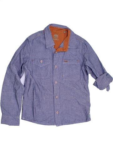 344b04cf3983 Chemise manches longues garçon TIMBERLAND bleu 10 ans hiver  1310614 1