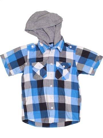 Camisa de manga corta niño GEORGE azul 8 años verano #1310793_1