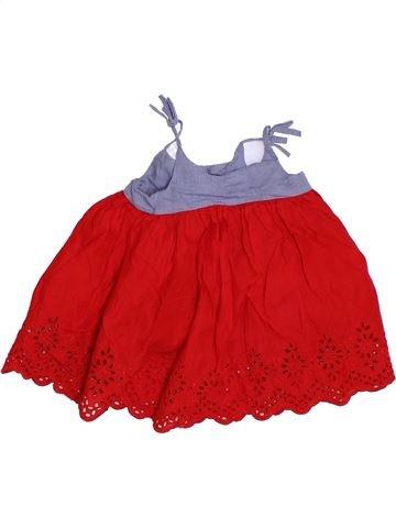 Vestido niña GAP rojo 6 meses verano #1310882_1