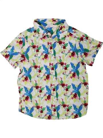 Camisa de manga corta niño H&M blanco 4 años verano #1310912_1