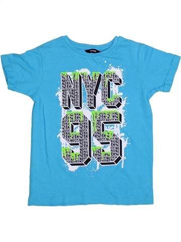 Camiseta de manga corta niño GEORGE azul 6 años verano #1311042_1