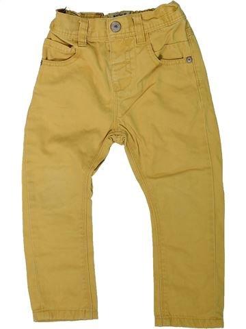Pantalón niño NEXT amarillo 2 años verano #1311069_1