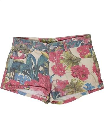 Short-Bermudas niña MISS E-VIE rosa 13 años verano #1311072_1