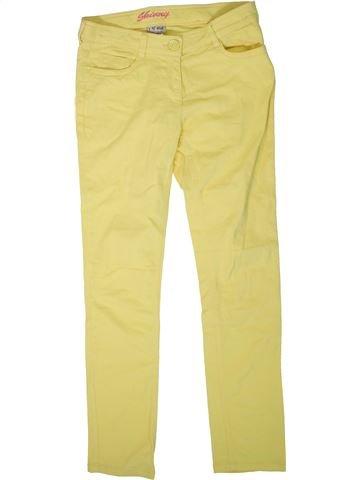 Pantalón niña NEXT amarillo 14 años verano #1311136_1