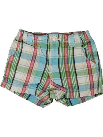 Short-Bermudas niña GAP verde 2 años verano #1311268_1