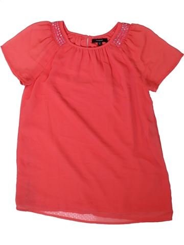 Blusa de manga corta niña MARKS & SPENCER rojo 12 años verano #1311296_1