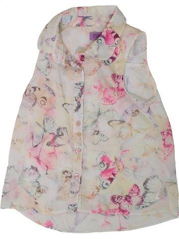 Blusa de manga corta niña F&F gris 6 años verano #1311305_1
