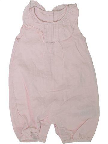 Combinación corta niña MARKS & SPENCER rosa 6 meses verano #1311311_1
