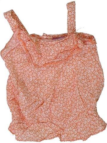 Blusa de manga corta niña F&F rosa 18 meses verano #1311387_1