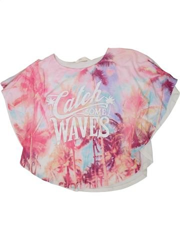 Camiseta de manga corta niña H&M rosa 14 años verano #1311389_1