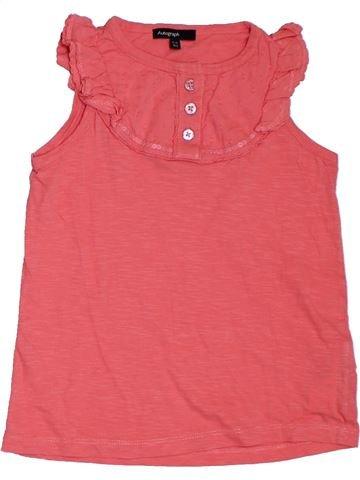 Camiseta sin mangas niña MARKS & SPENCER rosa 6 años verano #1311390_1