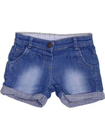 Short-Bermudas niña MARKS & SPENCER azul 3 años verano #1311423_1