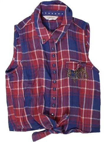 Blusa de manga corta niña CANDY COUTURE violeta 11 años verano #1311487_1