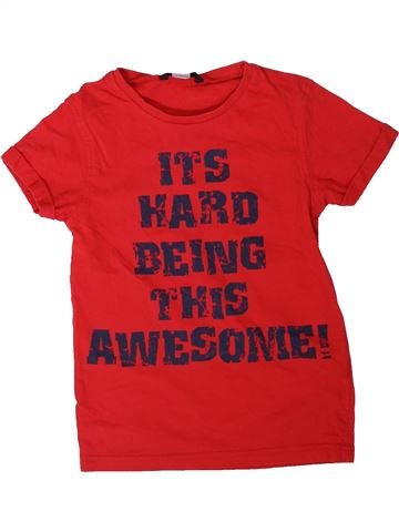 Camiseta de manga corta niño GEORGE rojo 7 años verano #1311492_1
