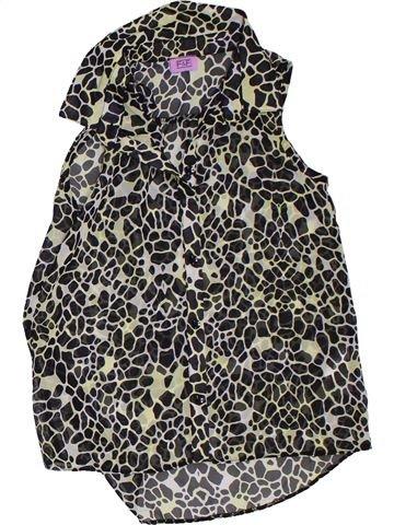 Blusa de manga corta niña F&F negro 7 años verano #1311523_1
