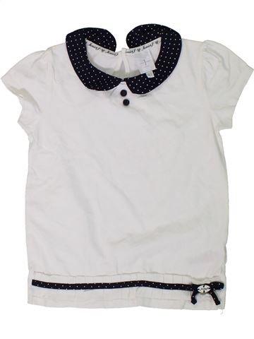 Camiseta de manga corta niña JASPER CONRAN blanco 5 años verano #1311565_1
