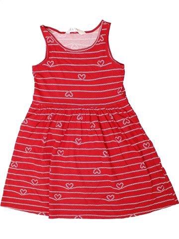 Vestido niña H&M rojo 8 años verano #1311567_1