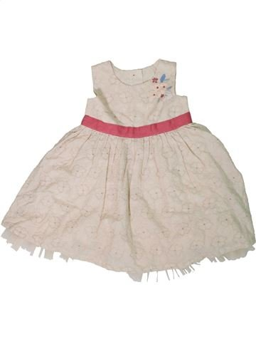Vestido niña MARKS & SPENCER beige 18 meses verano #1311585_1