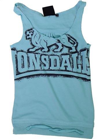Camiseta sin mangas niña LONSDALE azul 8 años verano #1311632_1