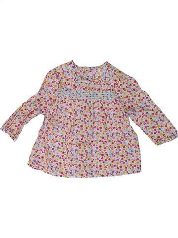 Blusa de manga larga niña MOTHERCARE beige 3 meses invierno #1311731_1