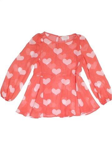 Blusa de manga larga niña MARKS & SPENCER rosa 6 años verano #1311795_1