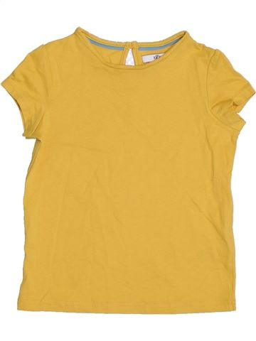 Camiseta de manga corta niña MARKS & SPENCER amarillo 6 años verano #1311805_1