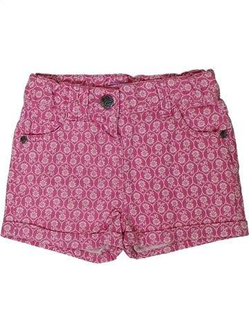 Short-Bermudas niña F&F rosa 2 años verano #1311808_1