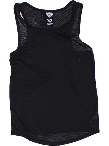 Camiseta sin mangas niña PRIMARK negro 11 años verano #1311859_1