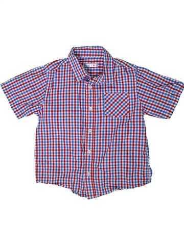 Camisa de manga corta niño M&CO violeta 7 años verano #1311874_1