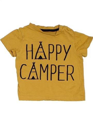 Camiseta de manga corta niño F&F marrón 12 meses verano #1311908_1