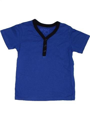 Camiseta de manga corta niño GENIUS STAR azul 3 años verano #1311922_1