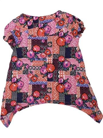 Camiseta de manga corta niña TU marrón 4 años verano #1311986_1