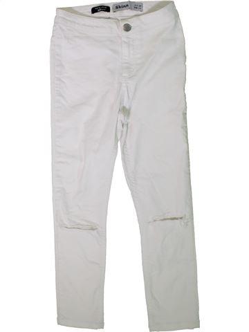 Pantalón niña NEW LOOK blanco 13 años verano #1312027_1
