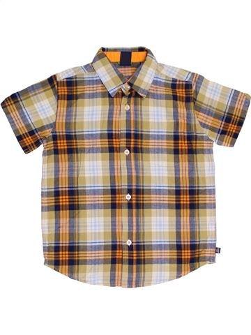 Camisa de manga corta niño GAP beige 5 años verano #1312053_1