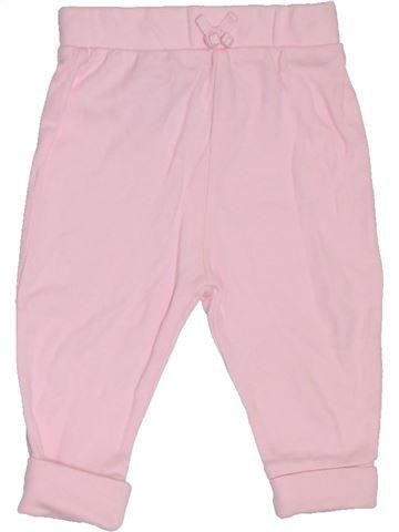 Pantalón niña GEORGE rosa 6 meses verano #1312068_1