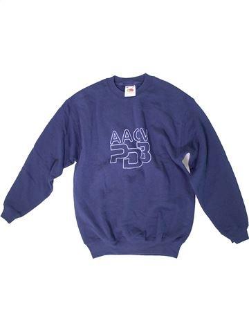 Sudadera niño FRUIT OF THE LOOM azul 13 años invierno #1312099_1