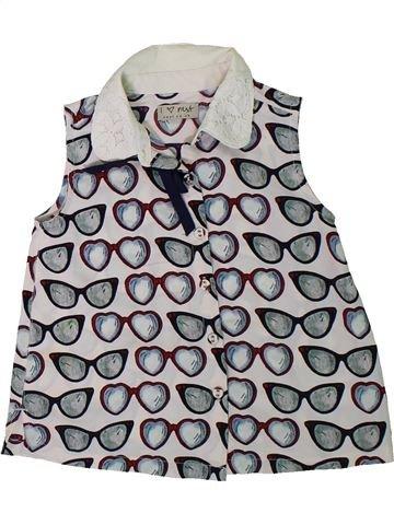 Blusa de manga corta niña NEXT gris 3 años verano #1312130_1