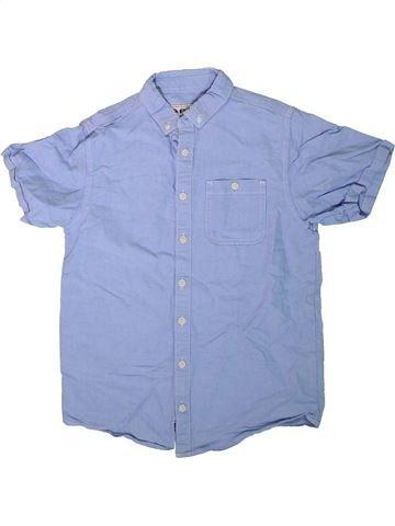 Chemise manches courtes garçon BOYS bleu 11 ans été #1312185_1