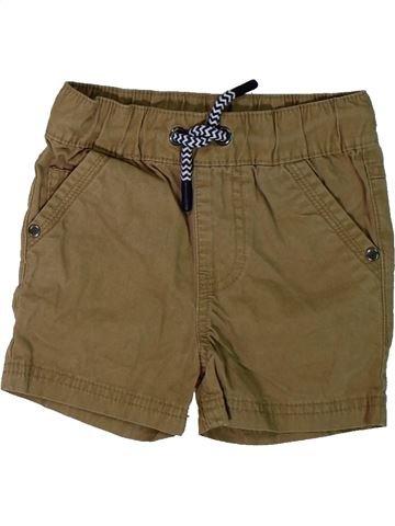 Short-Bermudas niño F&F marrón 18 meses verano #1312196_1