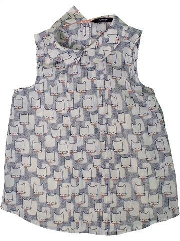 Blusa de manga corta niña GEORGE gris 9 años verano #1312198_1