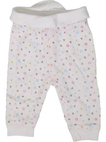 Pantalon fille ZIP ZAP blanc 3 mois été #1314802_1