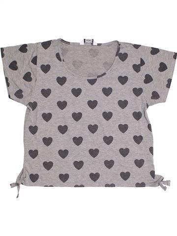 Camiseta de manga corta niña TAMMY gris 14 años verano #1314849_1