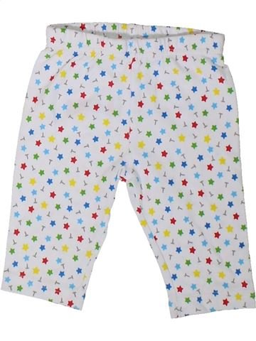 Pantalon garçon THOMAS ET SES AMIS blanc 3 mois été #1315415_1